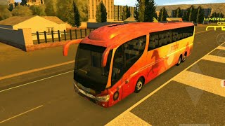 Ashwamedh bus driving | SCANIA Bus India | Indian bus in Heavy Bus Simulator | AC Sleeper Bus MSRTC