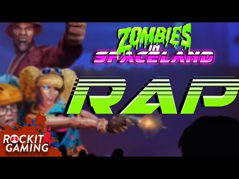 Call Of Duty Infinite Warfare Spaceland Zombies Rap Song   Fate And Fortune   Rockit Gaming