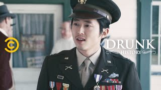 Daniel Inouye Goes from War Hero to Senator (feat. Steven Yeun) - Drunk History