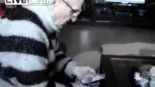 Grandpa Makes a Phone Call