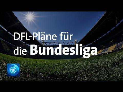 Fußball-Bundesliga: DFL stellt Konzept für Wiederaufnahme des Spielbetriebs vor