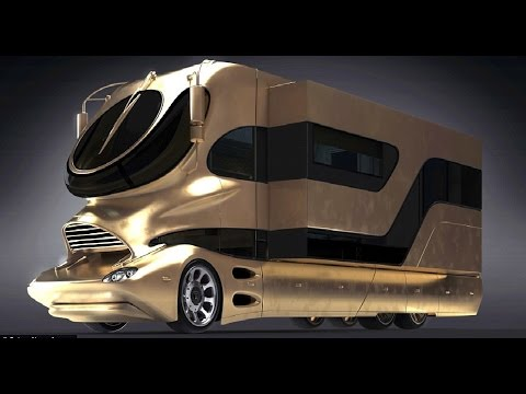 5 MOST EXTREME LUXURY BUSES On Earth !