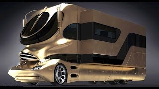 The Most Luxurious Motorhome & Buses in the world