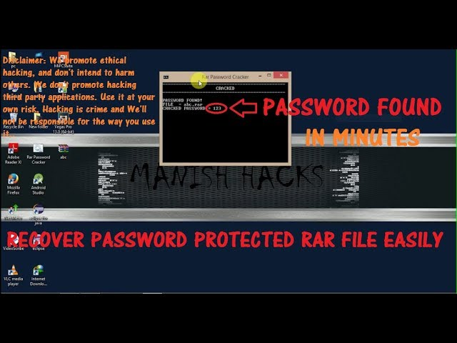 Crack any RAR/ZIP file password without any software[UPDATED