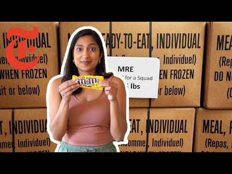 Priya Krishna Tries Pizza Made to Last For 3 Years | M.R.E. Taste Test | NYT Cooking