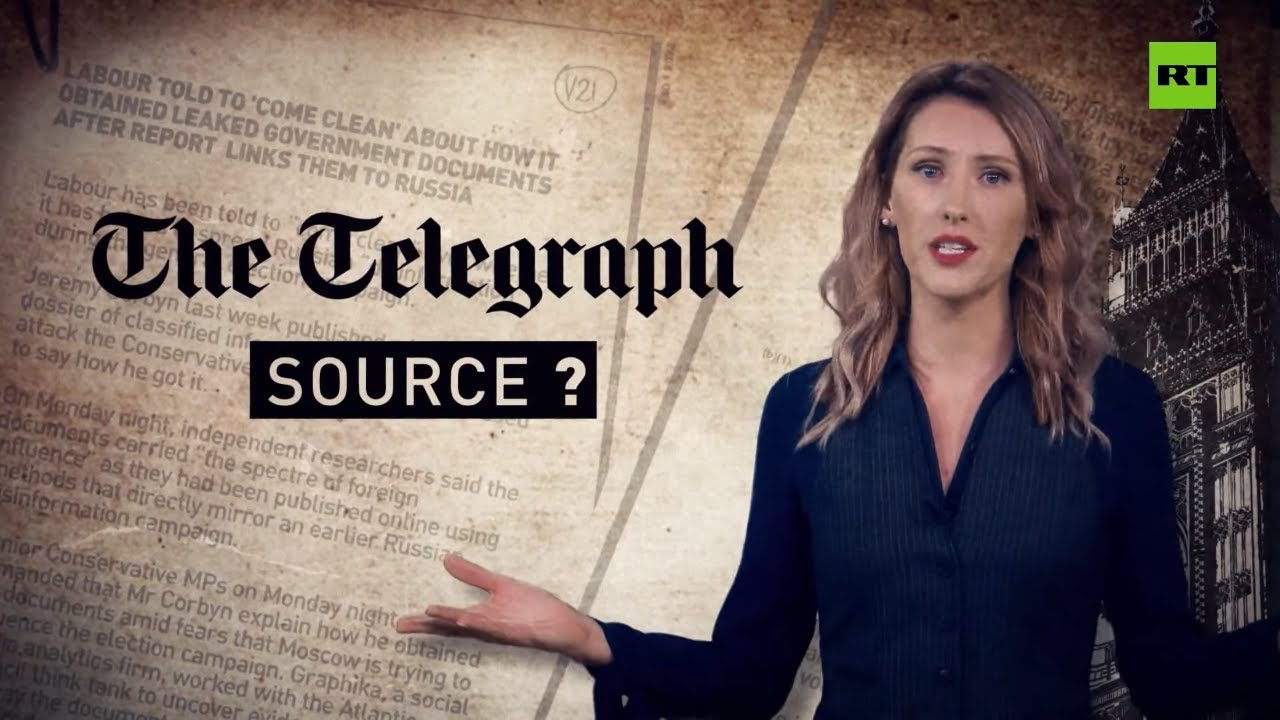 Telegraph slams Corbyn for dossier despite basing story on it earlier