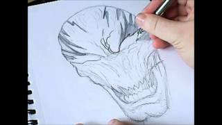 How To Draw Haunt Halloween Mask (6 of 365)
