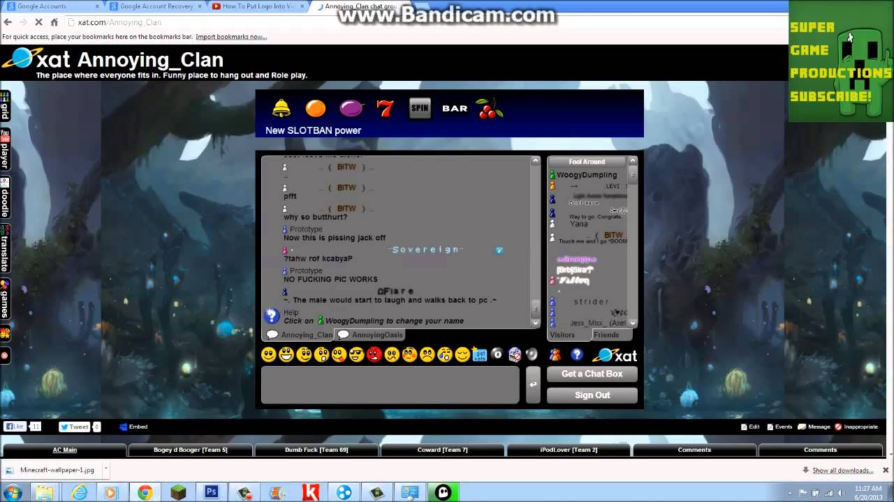 how to unban yourself on xat