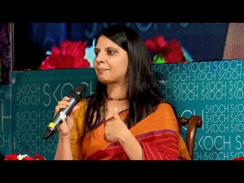 Yamini Aiyar, Centre for Policy Research at the 53rd SKOCH Summit