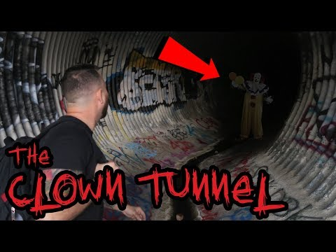 We Found The CLOWN That Chased Us In This Tunnel | OmarGoshTV