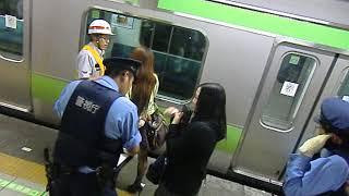 【品川駅にて】人身事故直後の映像1 Personal accident at Shinagawa station 1 thumbnail
