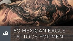 50 Mexican Eagle Tattoos For Men