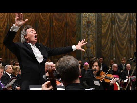 Vatican's Sistine Chapel hosts first live online concert