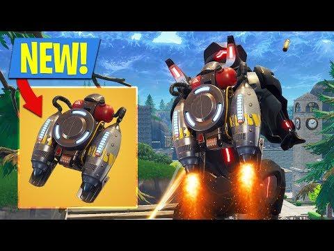New JETPACK Update In Fortnite Battle Royale!! (Fortnite Jetpack Gameplay)