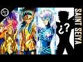 Los cuatro maestros de Hyôga (Milo, Camus, Crystal y...)
