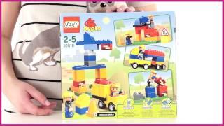 Видео обзоры LEGO Duplo Моя первая стройплощадка