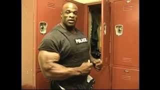 Ronnie Coleman talks about his job as a Policeman.