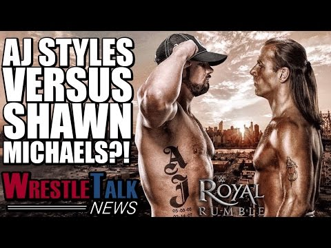 AJ Styles Teases Shawn Michaels WWE RETURN! | WrestleTalk News