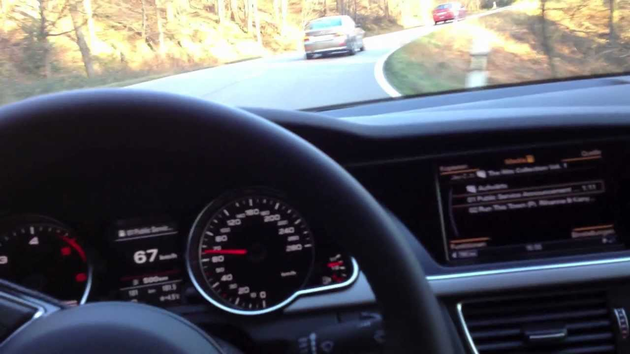 audi a5 3 0 tdi test drive mmi plus 3g youtube. Black Bedroom Furniture Sets. Home Design Ideas