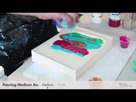 Acrylic Resin Finish & Paint Pour