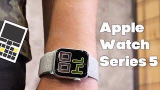 Обзор Apple Watch Series 5 и почему я до сих пор пользуюсь часами Apple?