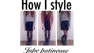 how i style / jupe patineuse