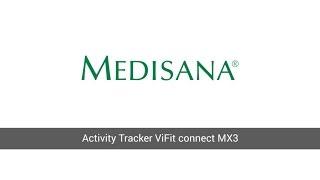 medisana activity tracker vifit mx3 connect erste schritte