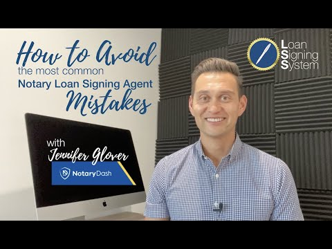 Learn The Most Common Notary Loan Signing Agent Mistakes And How To Avoid Them So You Can Earn More!