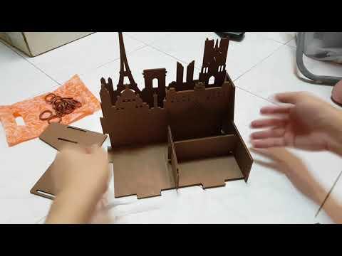 Eno Greeting   DIY Storage Wood Box   How to Assemble