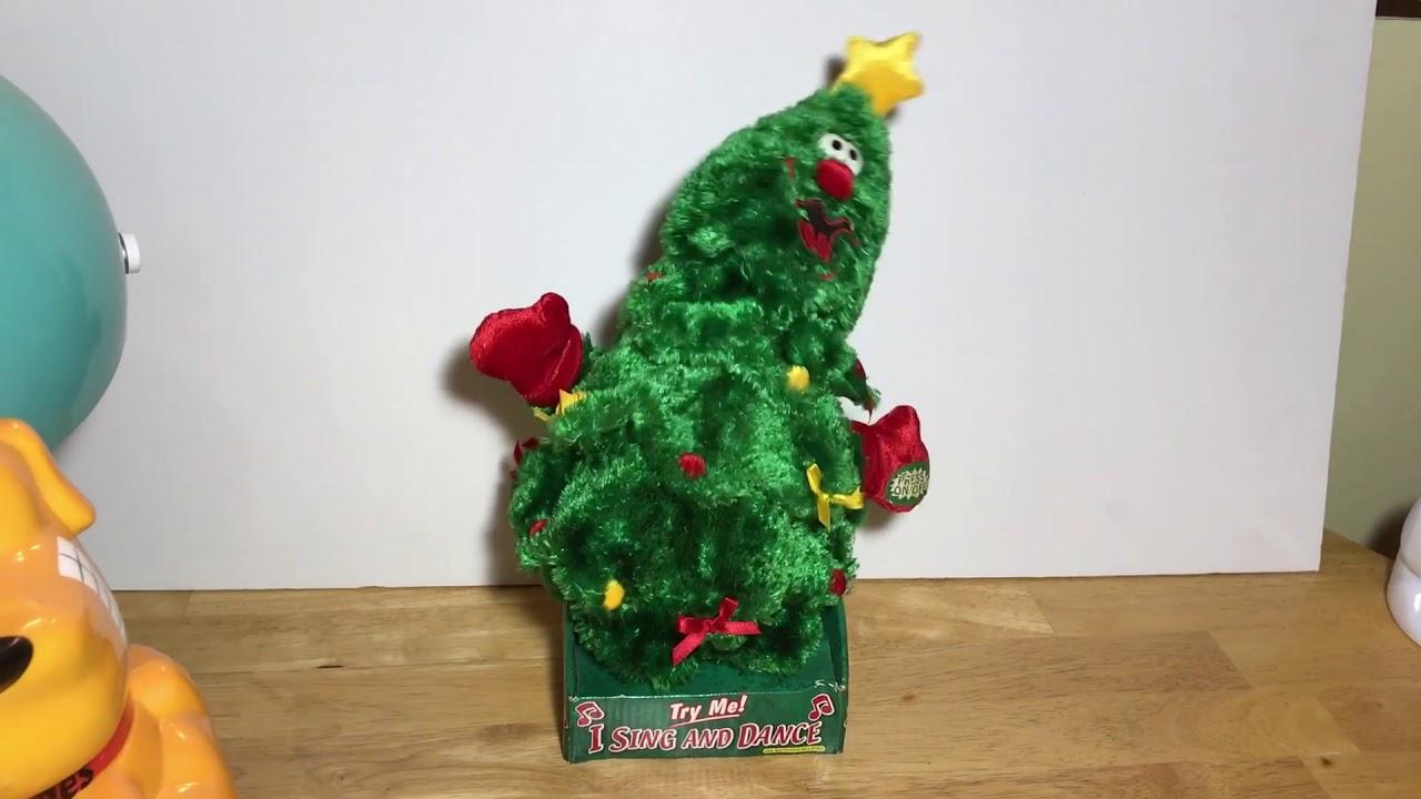 Dan dee singing dancing Christmas tree Ebay item - YouTube
