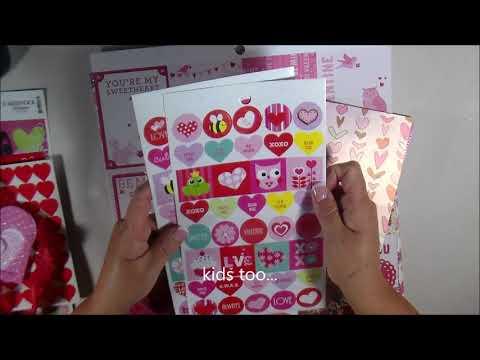 SOLD Pop Up Destash  1 Valentines Extravaganza