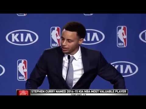 Stephen Curry MVP Speech Full Length