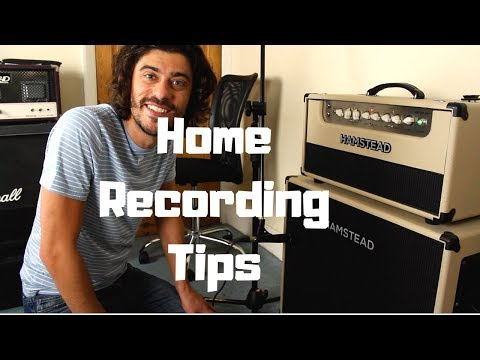 How To Record Guitar Audio