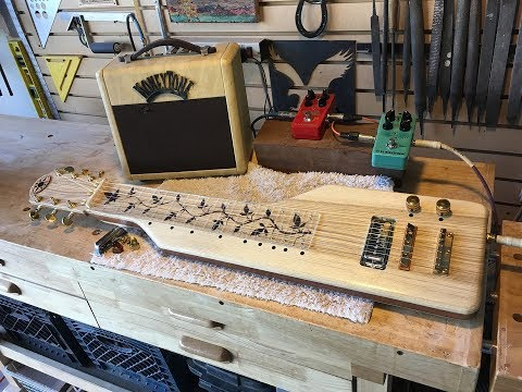 Building a Lap Steel Guitar Start To Finish