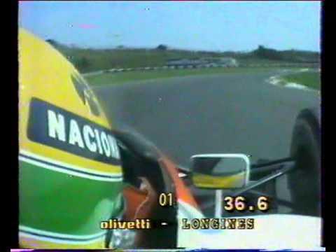 Onboard Ayrton Senna at Hungaroring - 1991 (pole position)