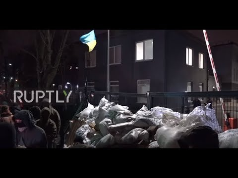 Ukraine: Kiev-based NewsOne TV channel blockaded by unidentified group