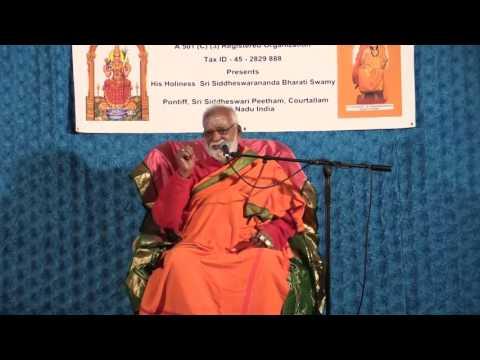 Courtallam Swamiji October 25  2015   Hanuman Temple Frisco