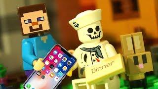 САМАЯ БОЛЬШАЯ ДЕРЕВНЯ в Майнкрафте ЛЕГО НУБик Мультики LEGO Minecraft - Видео Мультфильмы для Детей