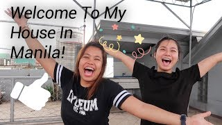 MY NEW HOUSE TOUR (Umaasenso Na Si Mayora!)