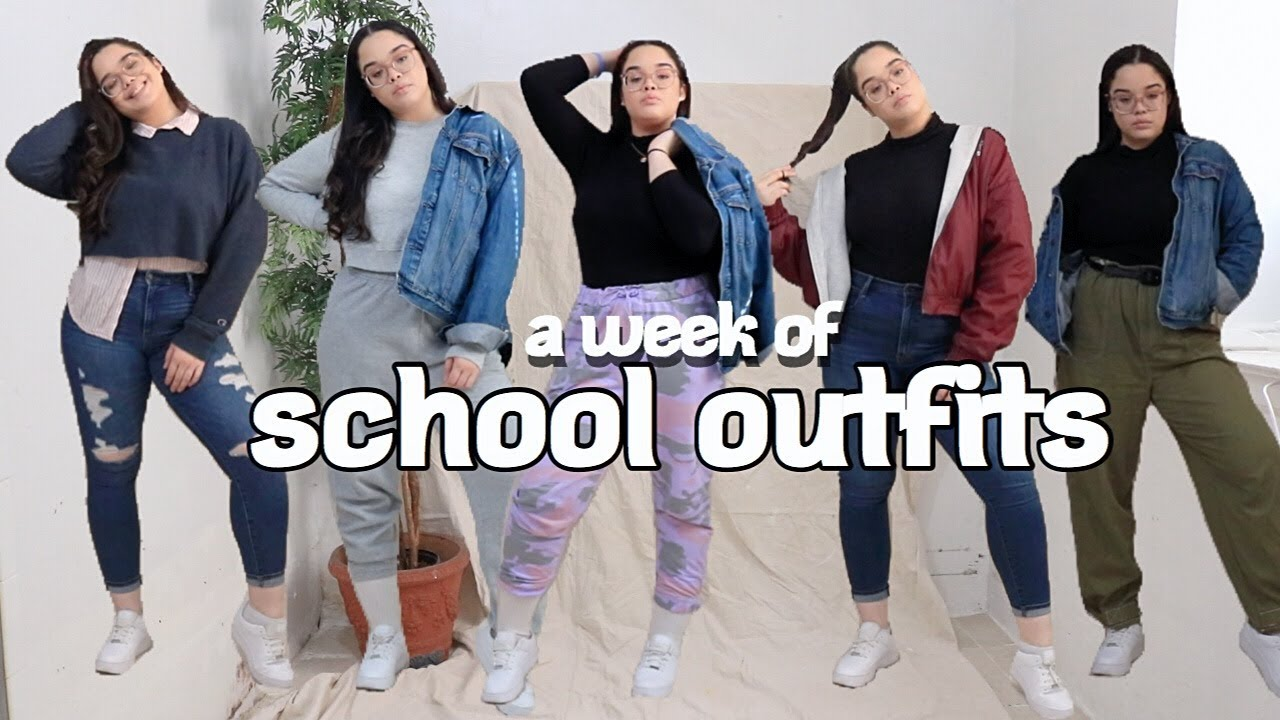 [VIDEO] - a week of school outfits (what I ACTUALLY wear to school) | IAMXWIS 8