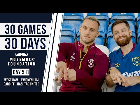 MEETING ARNAUTOVIC & CARDIFF PICK UP GAME! - #30GAMES30DAYS EP2