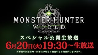 『モンスターハンター:ワールド』スペシャル公開生放送 thumbnail