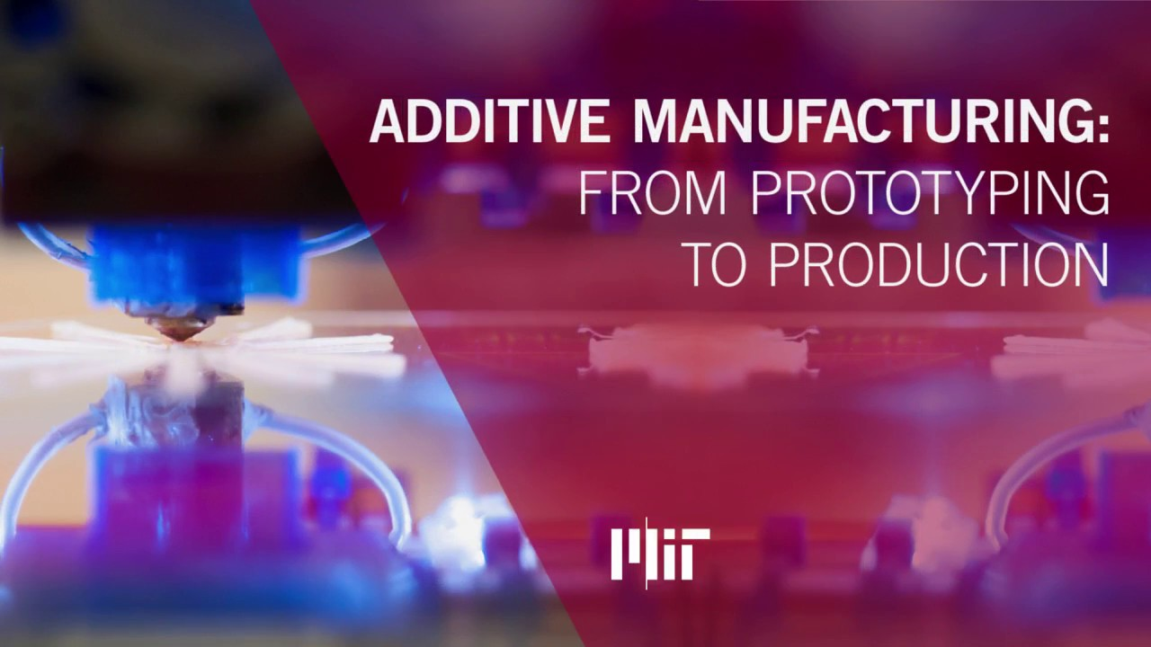 ADDITIVE MANUFACTURING FROM PROTOTYPING TO PRODUCTION WEBINAR with John Hart