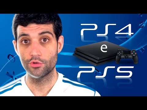 O FIM do PLAYSTATION 4, PlayStation 5 a caminho?