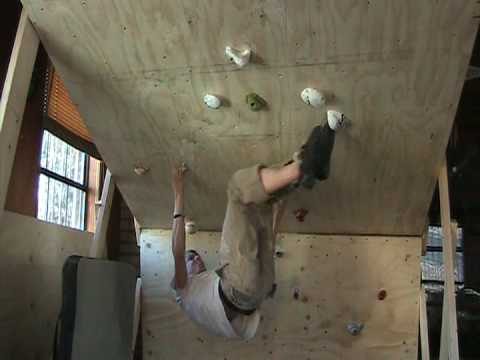 home rock climbing wall youtube. Black Bedroom Furniture Sets. Home Design Ideas