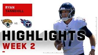 Ryan Tannehill's MONSTER Day w/ 4 TDs | NFL 2020 Highlights