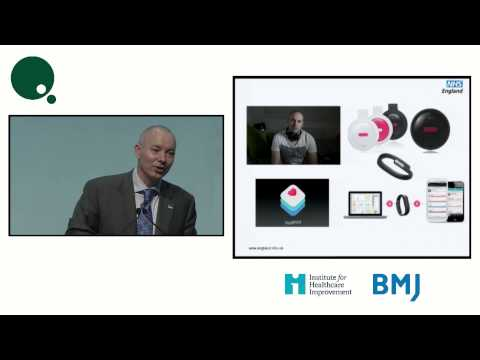 2015 London Presentation - Developing a world class digital health service - Paul Rice