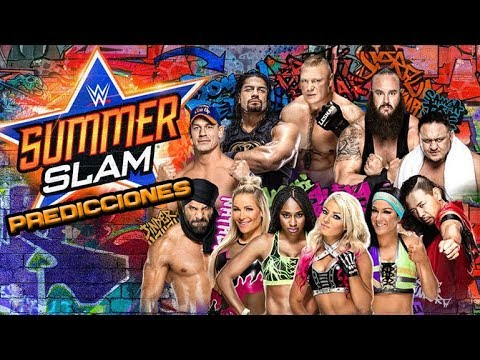 PREDICCIONES WWE SUMMERSLAM 2017