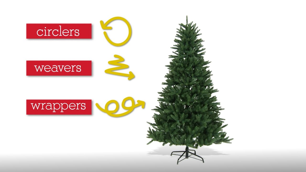 How to Light a Christmas Tree - YouTube