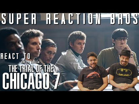 SRB Reacts to The Trial of the Chicago 7 | Official Trailer